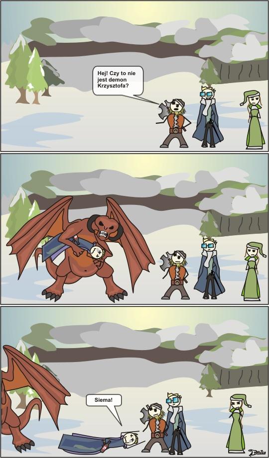 demon mag druidka komiksy