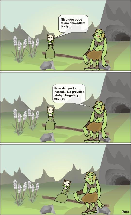 troll druidka komiks