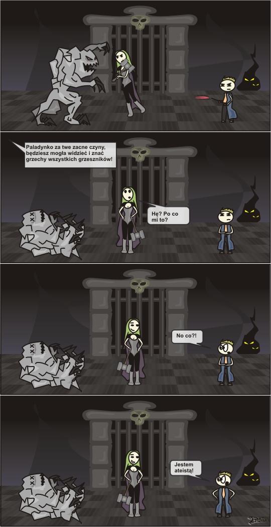 druidka komiks ateista paladyn mag