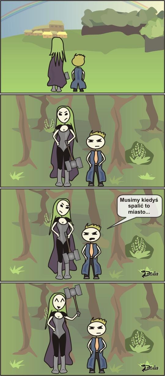 paladyn mag druidka komiks