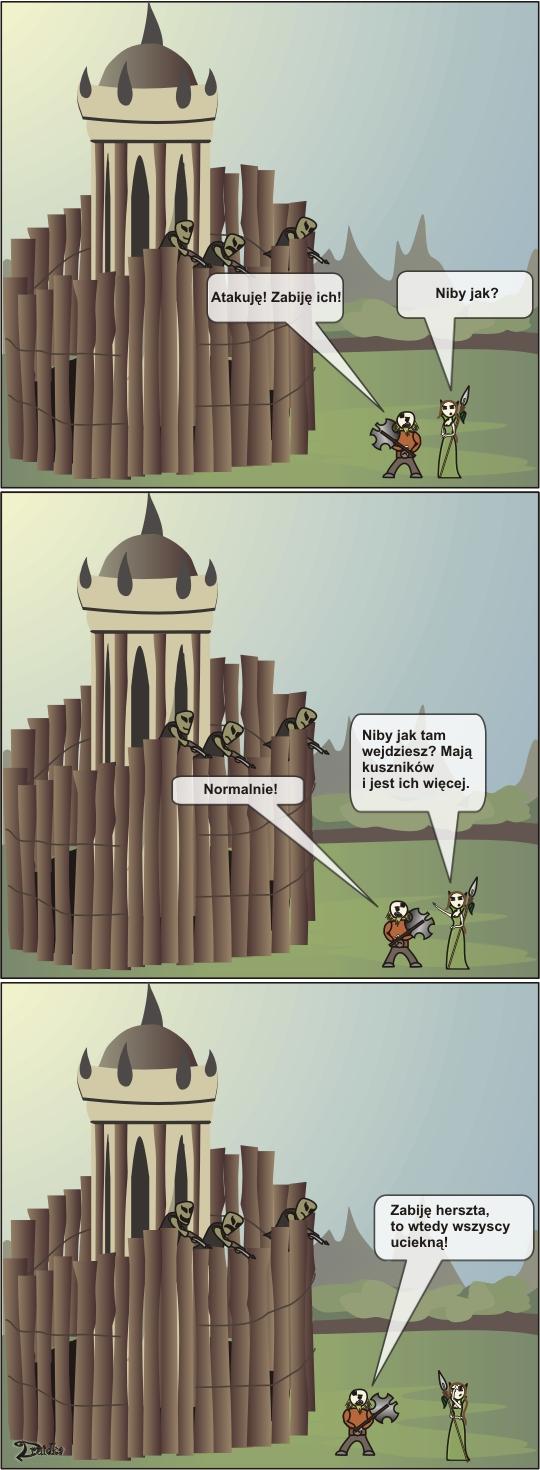 druidka komiks krasnolud herszt