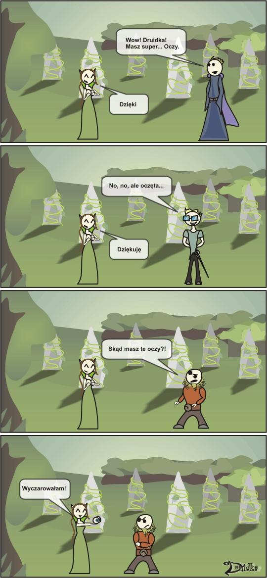 druidka komiks z podtekstem
