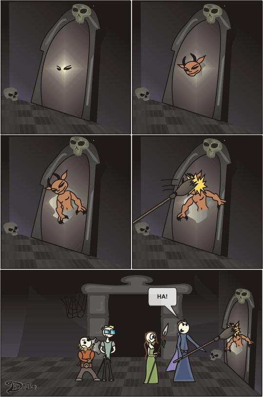 imp portal druidka komiks mag Krzysztof