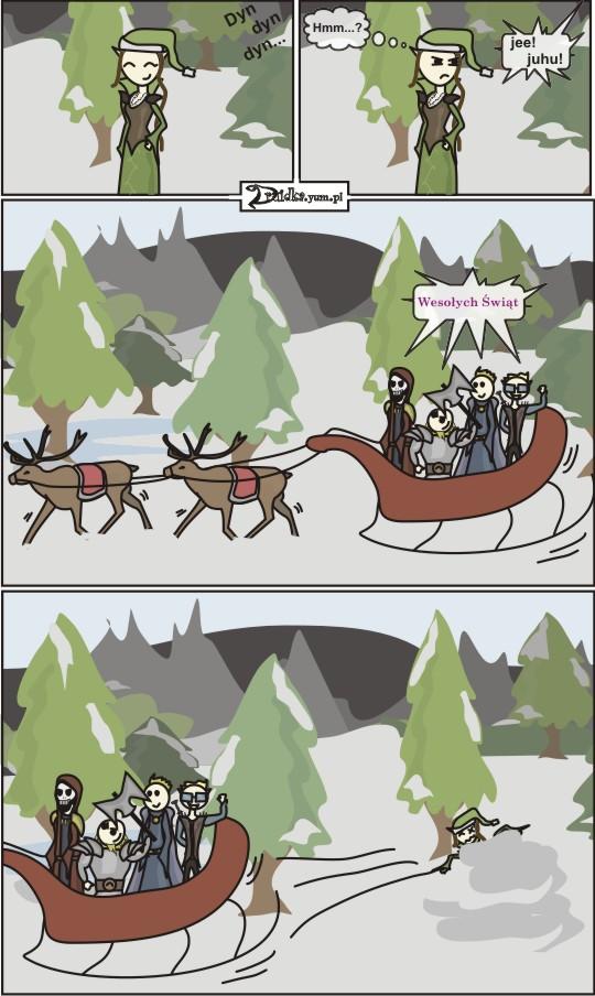 Dżentelmeni druidka komiks