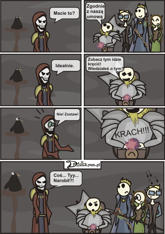 96 krach druidka komiks