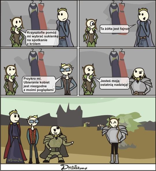 ostatnia nadzieja druidka komiks