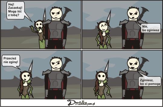 druidka komiks zginiesz